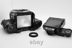 TOP MINT PENTAX 67 Late Model Camera Body TTL Finder Wood Grip II From Japan