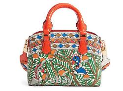 TORY BURCH ROBINSON PRINTED TOP-HANDLE MINI BAG MULTI NWT! Sold Out