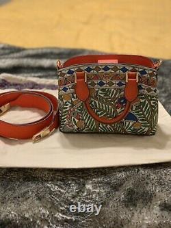 Tory Burch Robinson Printed Mini Bag Top-Handle Shoulder Bag NWOT