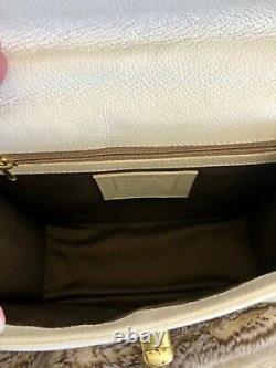 VTG COACH IVORY GRACIE Madison Collection Mini Bag Handle Top Ltd Edition 1990's