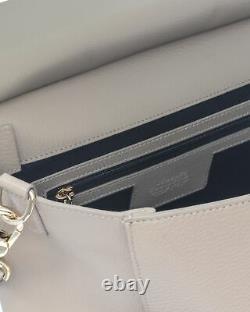 Versace Collection Sand Pebble Top Handle Satchel LBF0999S-LVAL-L25OC MSRP $1300