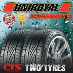 X2 205 45 16 83w Uniroyal Rainsport 5 (a) Rated Wet Grip Top Quality Tyres