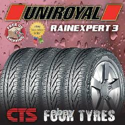 X4 195 65 15 91h Uniroyal Rainexpert 3 (a) Rated Wet Grip Top Quality Tyres