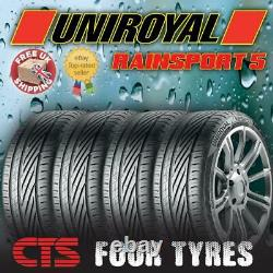 X4 205 40 17 84w XL Uniroyal Rainsport 5 (a) Rated Wet Grip Top Quality Tyres